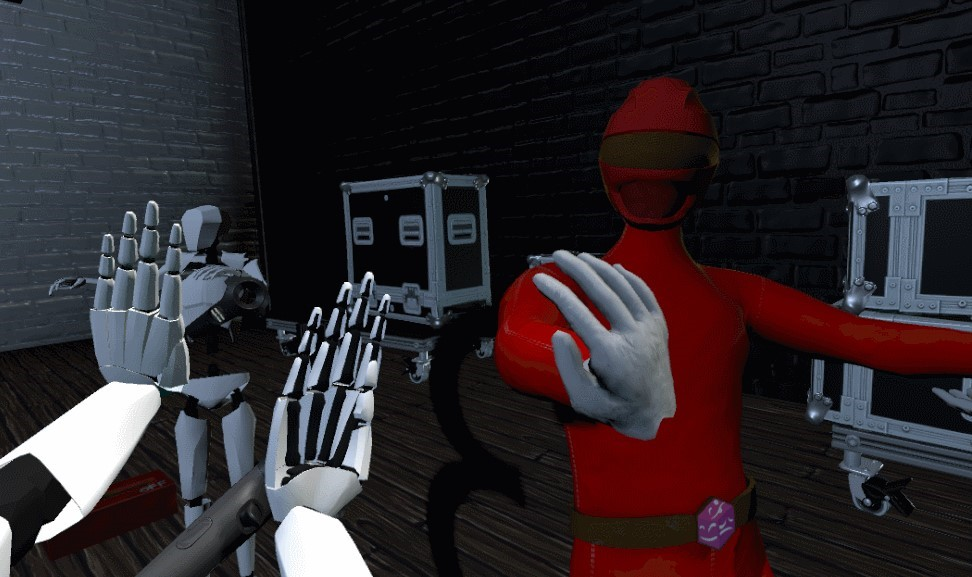 Expressivity In VR screenshot first-person perspective