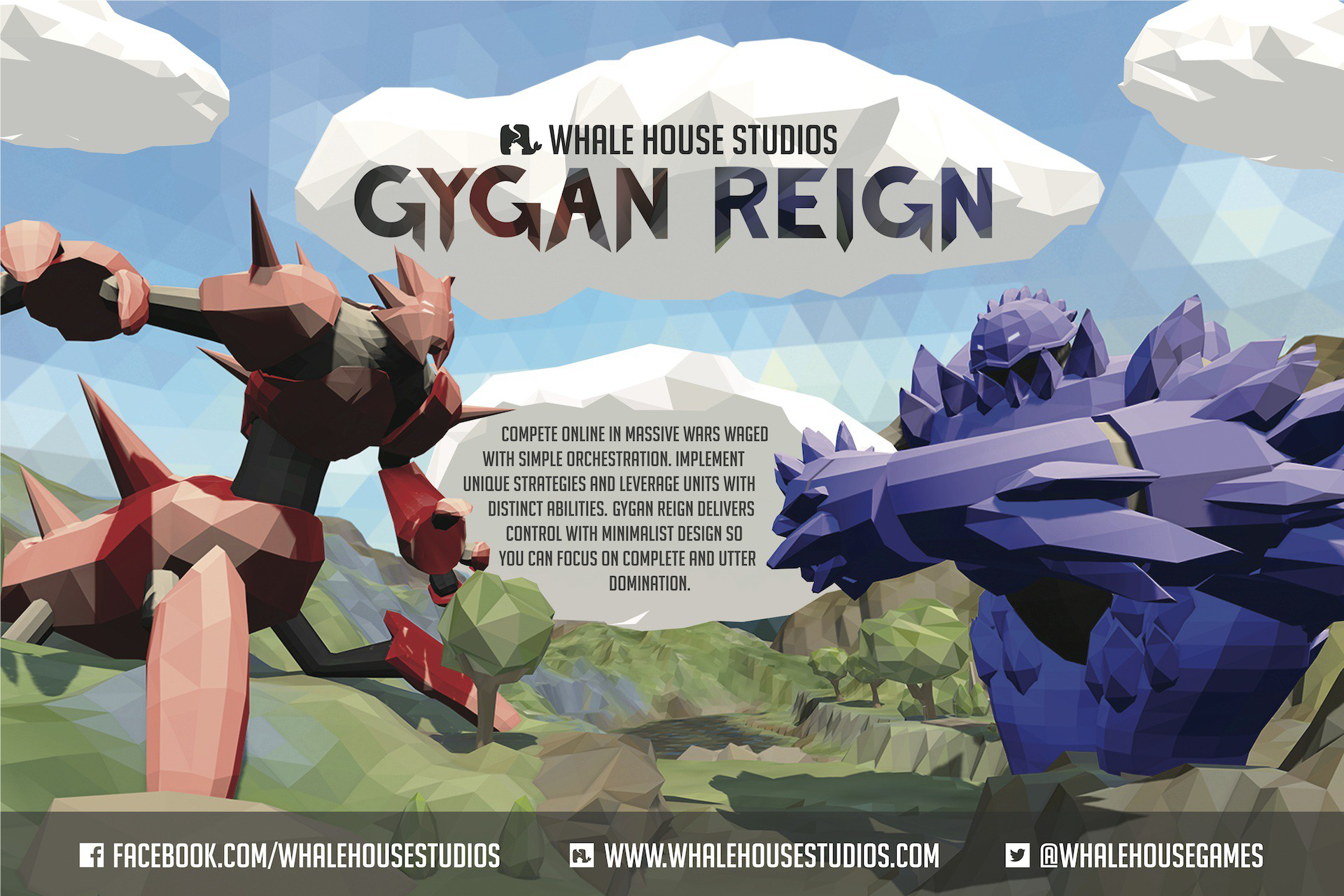Promotional Poster for Gygan Reign.